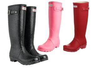 Combate la lluvia con las fantásticas botas Hunter (1)