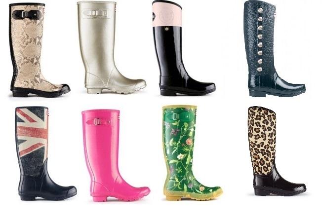 Combate la lluvia con las fantásticas botas Hunter (2)