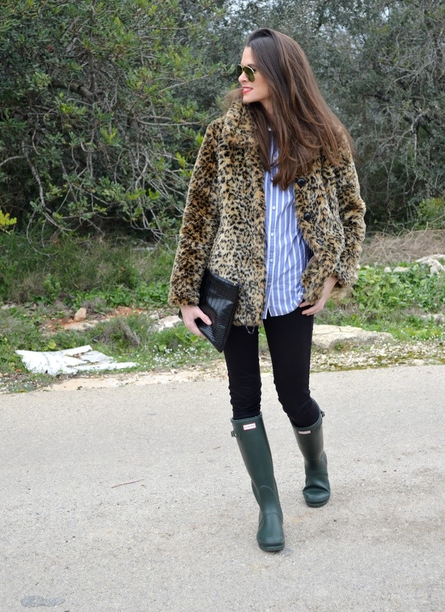look botas hunter