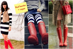 botas hunter rojas 3