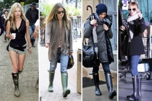 moda botas hunter