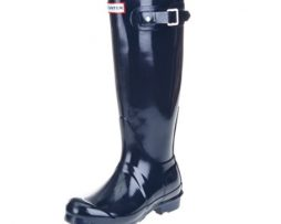 Hunter Original Tall Gloss Azul