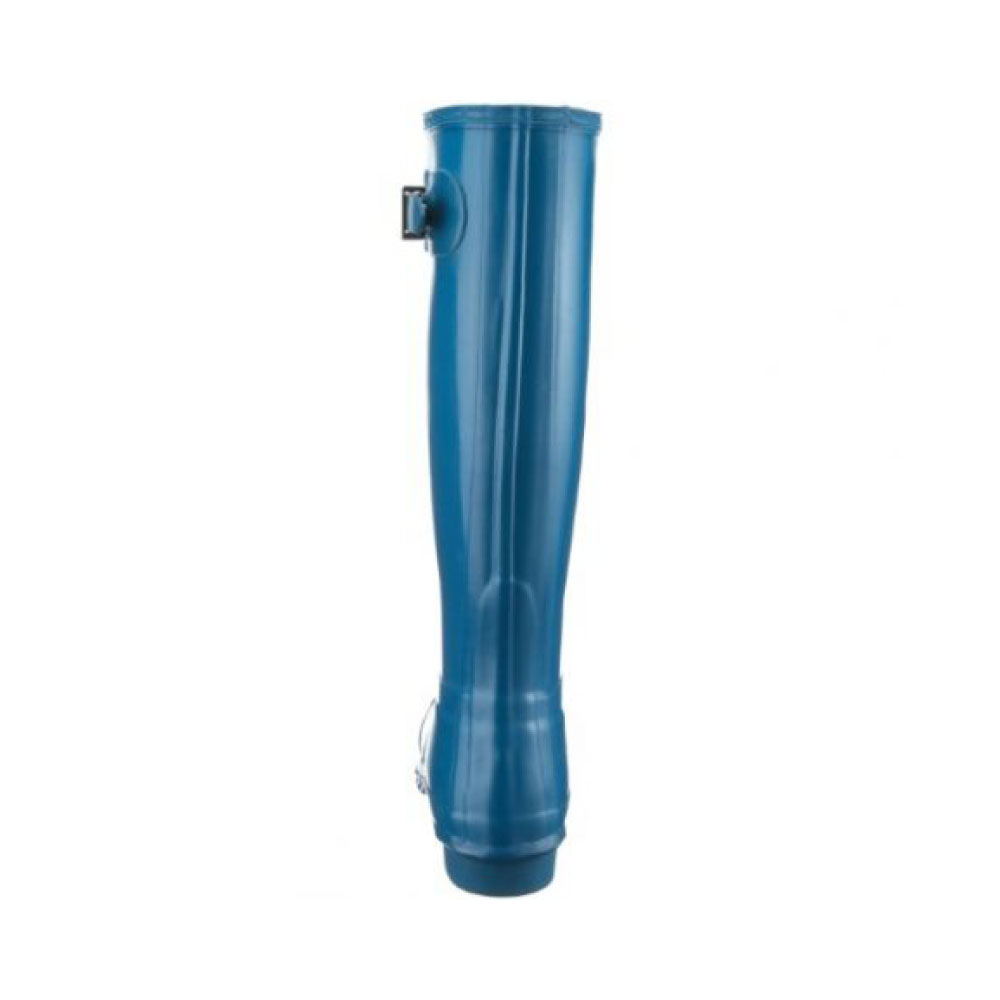 precios Hunter Original Tall Gloss Azul