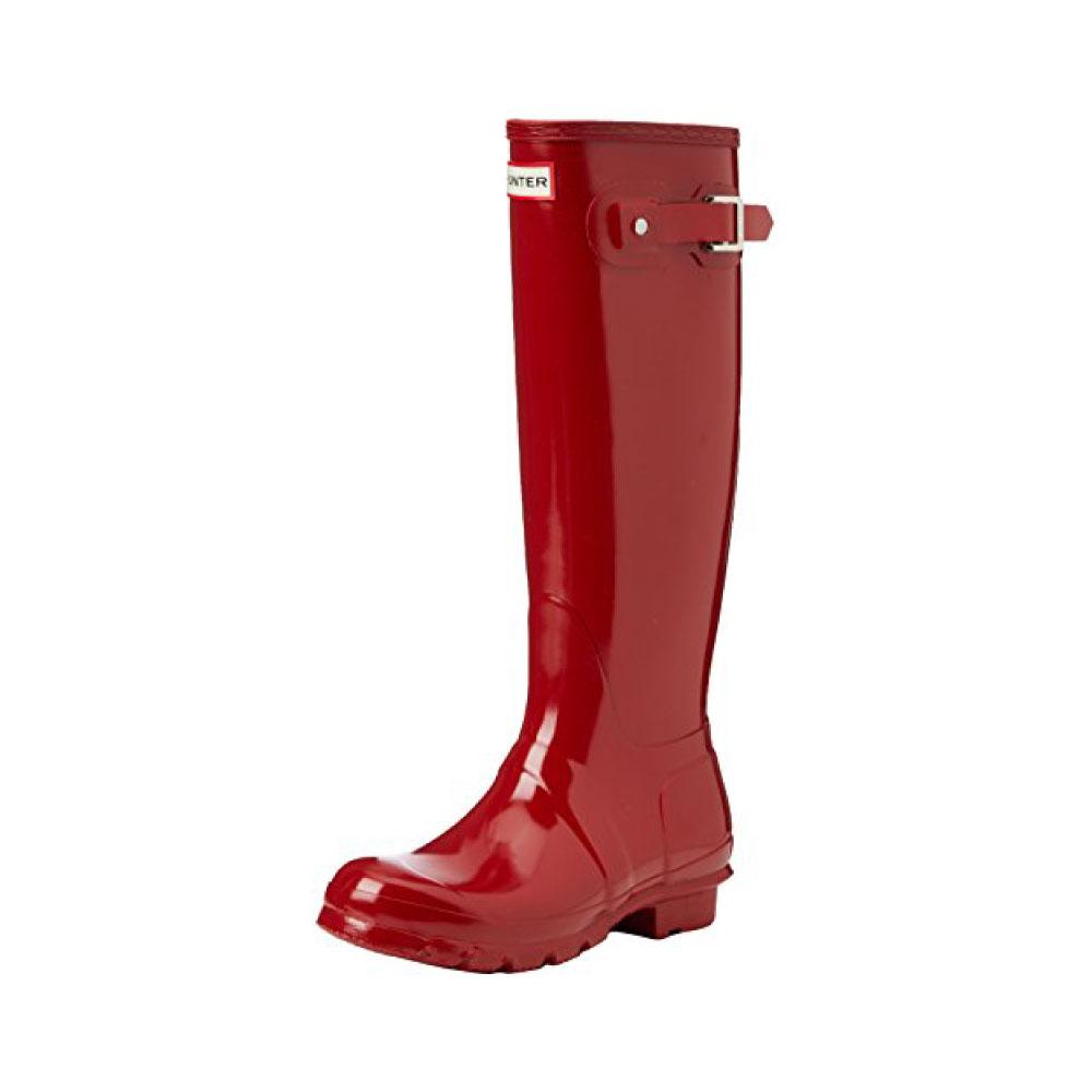 precios Hunter Original Tall Gloss Rojo